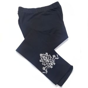 New Embroidered Leggings